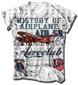 Wrap Around T Shirt Printing